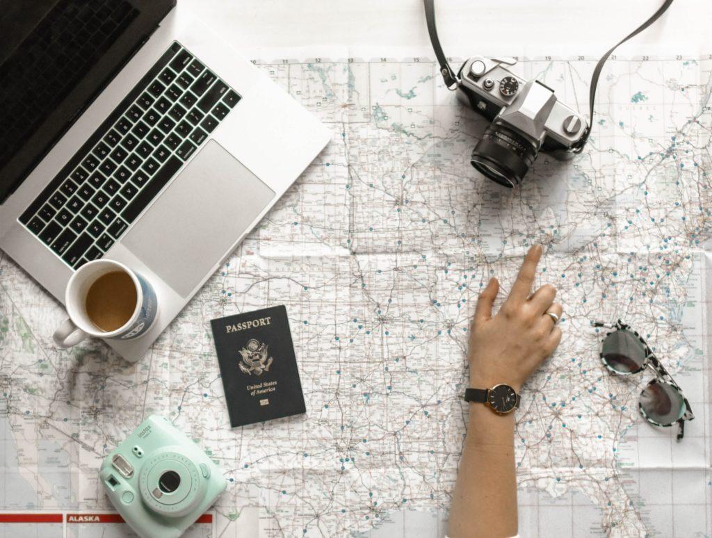 Planejando um roteiro de viagem completo
