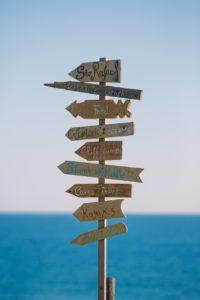 planejamento de viagem por conta